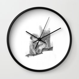 Meercat Baby Wall Clock