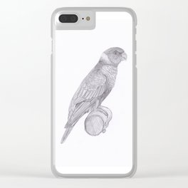 Lorikeets Bird drawing Clear iPhone Case