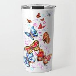 Butterflies Beautiful Butterflies Travel Mug