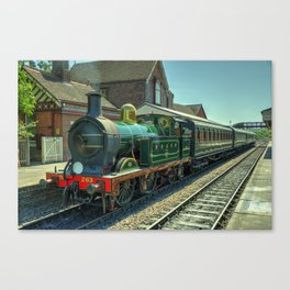 H class at Sheffield Park Canvas Print
