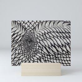 Crow's Scorn Mini Art Print