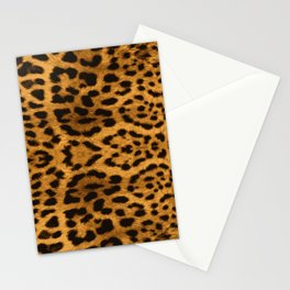 Baesic Leopard Print Stationery Cards