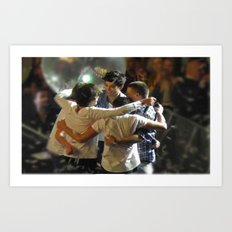 One Direction Madison Square Garden MSG 2 Art Print