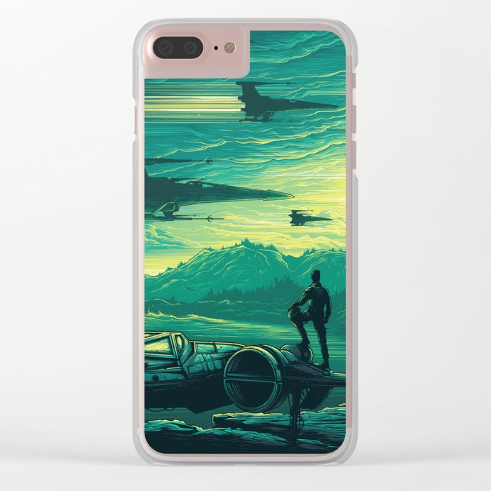 The Force Awakens Alternative Poster design Clear iPhone Case