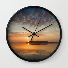 A Gentle Kiss Wall Clock