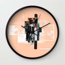 """Pack Mule Four"" Graphic Art Print Wall Clock"