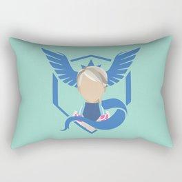 Team Mystic - Blanche Rectangular Pillow