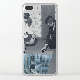 91 - I can almost feel it Clear iPhone Case