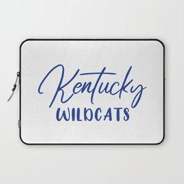 Kentucky Wildcats Basketball Laptop Sleeve