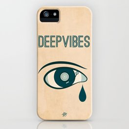 Deep Vibes iPhone Case