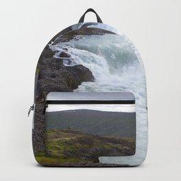 Watercolor Landscape, Godafoss 01, Iceland Backpack