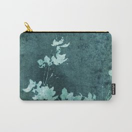 Weathered Floral Carry-All Pouch