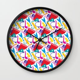 Musical Parade Wall Clock