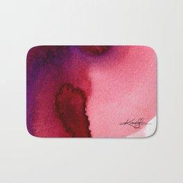 Watercolor Abstraction No. 405 Bath Mat