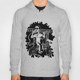 Man on the moon Hoody