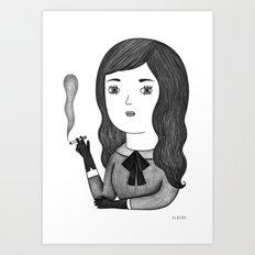 Priscilla Art Print