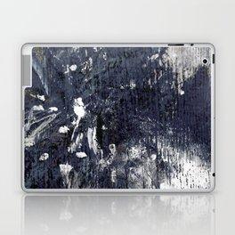 wood flower_blue Laptop & iPad Skin