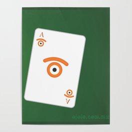 poker of glances Poster