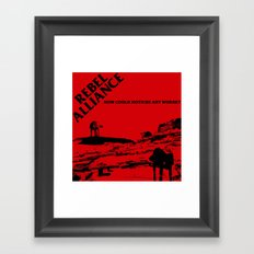 How Could Hoth Be Any Worse? Framed Art Print