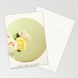-Earth Laughs in Flowers- Stationery Cards