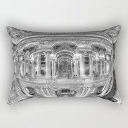 Ode To MC Escher Library of Congress Orb Rectangular Pillow