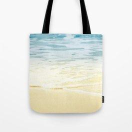 Kapalua Beach dream colours sparkling golden sand seafoam Maui Hawaii Tote Bag