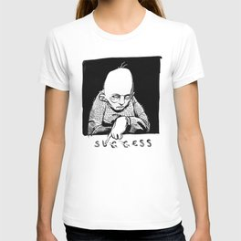 Scratching the veneer of success. T-shirt