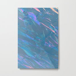 Holographic Artwork No 7 (Crystal) Metal Print
