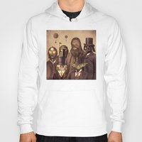 gentleman Hoodies featuring Victorian Wars  by Terry Fan