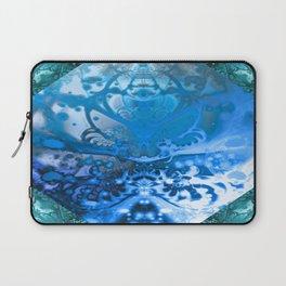 Meditating Entity (blue) Laptop Sleeve