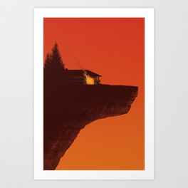 The House of the Wolf Art Print