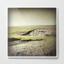 Landscape, Flint Hills, Kansas Metal Print