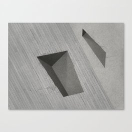 Subtracted Cube Canvas Print