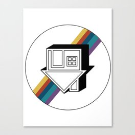 no grey Canvas Print