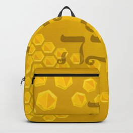 rosh hashanah honey Backpack