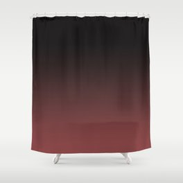 Marsala Ombre Shower Curtain