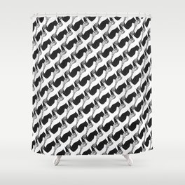 Pied de Fou Shower Curtain