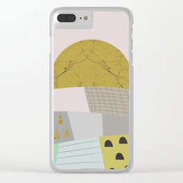 Little hills Clear iPhone Case