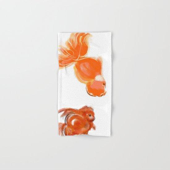 goldfish 1 Hand & Bath Towel