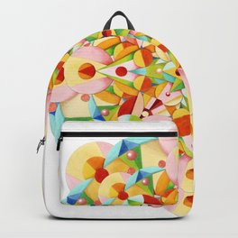 Pastel Carousel Mandala Backpack