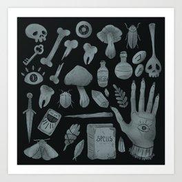 witchcraft Art Print