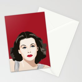 Hedy Lamarr portrait Stationery Cards