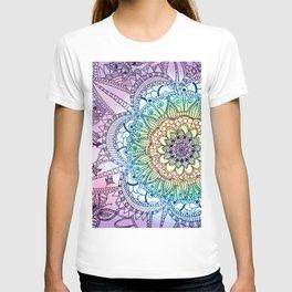 Purple Butterfly Mandala T-shirt