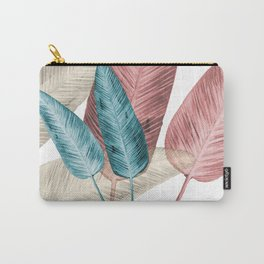 Watercolor banana leaves Carry-All Pouch