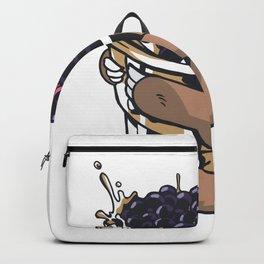 Sloth Bubble Tea Backpack