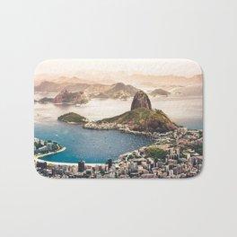 Rio de Janeiro Brazil Bath Mat