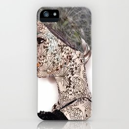 butterfly woman iPhone Case