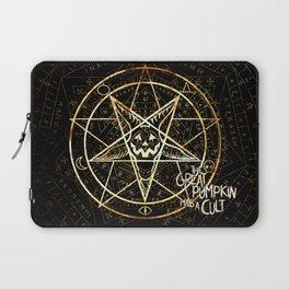 Cult of the Great Pumpkin: Pentagram Laptop Sleeve