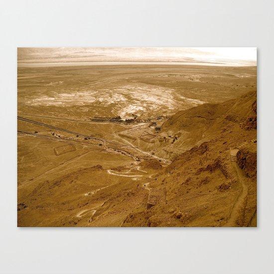 Sunset Desert Part II Canvas Print