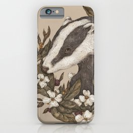 Badger iPhone Case